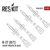 Набор вооружений: Ракета R-27Р/T, 4 шт.