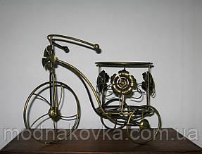 Подставка для цветов Велосипед 1 Мальва