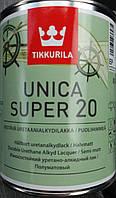 Лак Unica Super для дерева п/м Уника Супер Tikkurila, 0.9л, фото 1