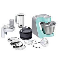 Кухонный комбайн Bosch MUM 58020, 1000 Вт насадка для тіста, насадка для збивання, терка, насадка для нарізки