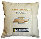 Подушка декоративная в авто с логотипом Chevrolet, фото 5