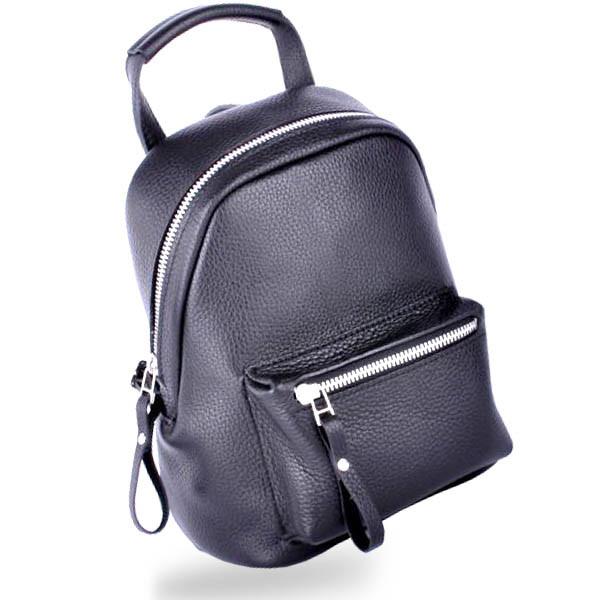 b9289c390096 Кожаный рюкзак оригинального дизайна urban black Jizuz - Omama.  Интернет-магазин для настоящих мам