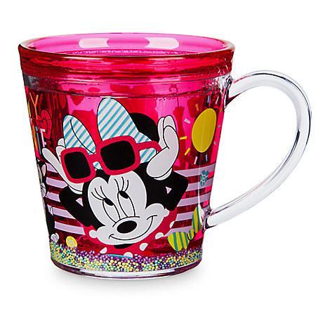 Чашка Дисней Минни Маус с двойной стенкой и декором/ Minnie Mouse BPA free Cup Disney
