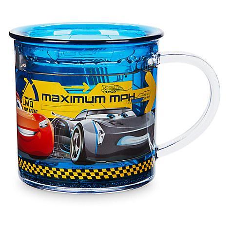 Чашка Дисней Тачки с двойной стенкой и декором/ Cars BPA free Cup Disney
