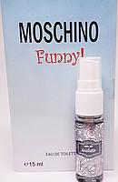 Мини-вариант парфюма Moschino Funny - Mini parfume 15ml