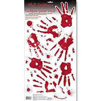 Наклейка на стену Лавка ужаса руки 1501-2818