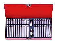 Набор вставок-бит KING TONY 1044CQ TORX, SPLINE, HEX, 10 мм (44 предмета)