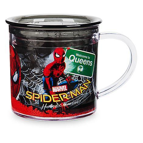 Чашка Дисней Спайдермен с двойной стенкой и декором/ Spider-Man BPA free Cup Disney