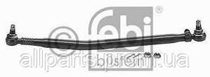 Продольная рулевая тяга поперечная на Ивеко - IVECO EuroCargo, EuroStar, EuroTech, Stralis, Daily