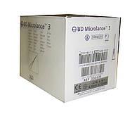 BD Microlance Игла одноразовая инъекционная стерильная 27G (0,4 x 13 мм) 100 шт.