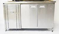 Холодильный стол 2-двери б/у, фото 1
