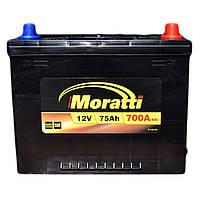 Аккумулятор автомобильный Moratti 6СТ-75 АзЕ Asia