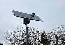 Автономный уличный LED светильник 30 Вт, (лето), фото 2