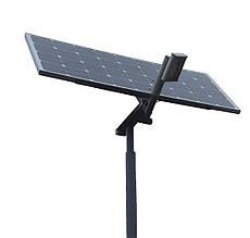 Автономный уличный LED светильник 15 Вт, (лето)
