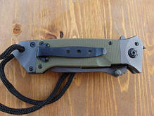 Нож складной MilTec DA35 Olive 15344501, фото 3