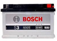 Аккумулятор Bosch 70 Ач Правый + ( обратной полярности) 640А