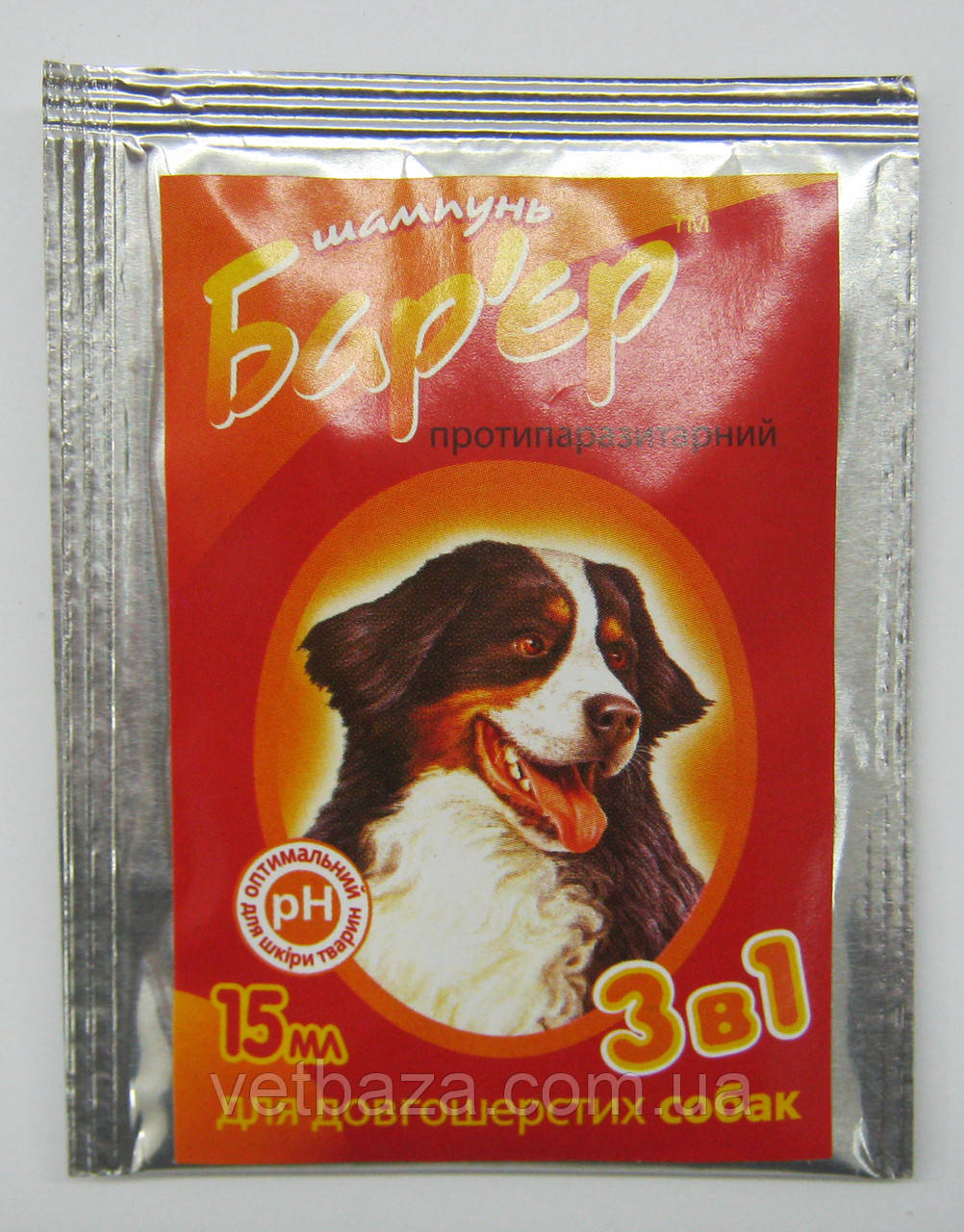 Шампунь Барьер 2в1 для собак 15мл Продукт