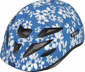 Велошлем детский ABUS HUBBLE Blue Flower (S)