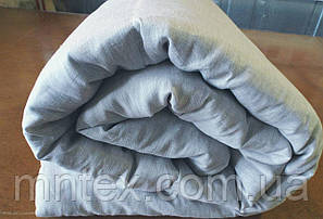 Одеяло с конопляным наполнителем, покрытие лён