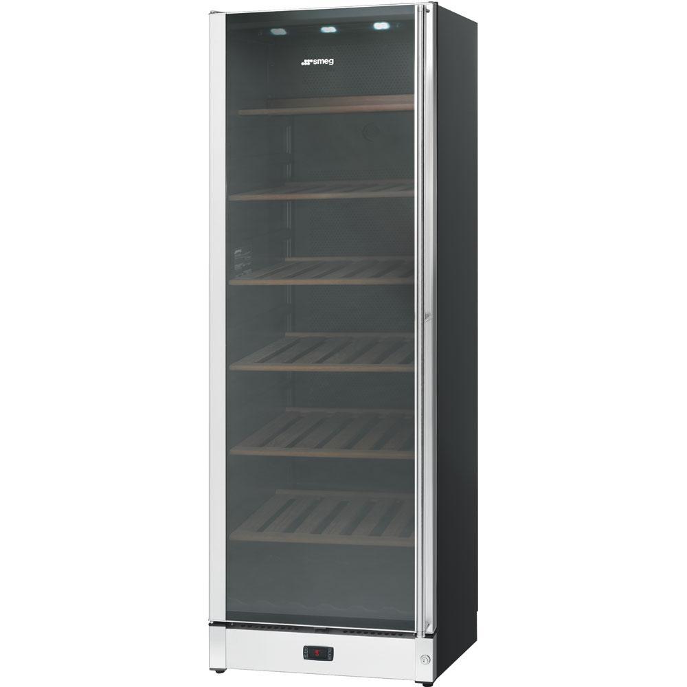 Холодильный шкаф для вина отдельностоящий Smeg SCV115AS
