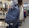 Стильный рюкзак городской в полоску, фото 4