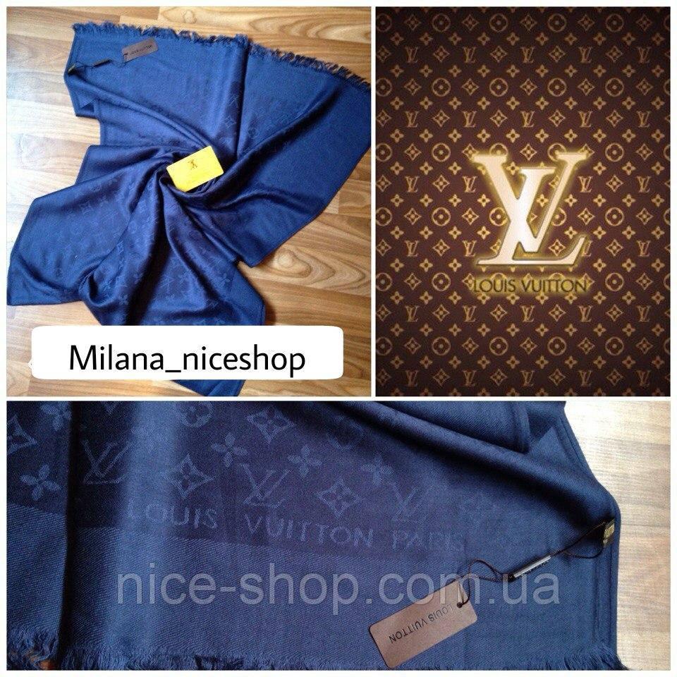 Палантин Louis Vuitton синий
