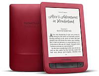 Электронная книга 6' PocketBOOK 626 Touch Lux 3 Red (PB626(2)-R-CIS) 1024x758, 4Gb, Wi-Fi, PDF, подсветка