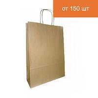 Бурый крафт-пакет 335х260х140мм