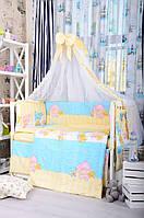 Детский постельный комплект Bepino, Дети спят. 8 предметов.