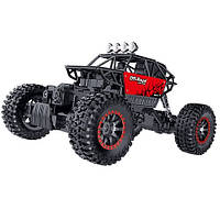 Автомобиль OFF-ROAD CRAWLER на р/у – TOP RACING (красный, 1:18)