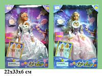 Кукла DEFA 20961 невеста с аксес.муз.