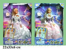 Кукла DEFA 20961 невеста с аксес муз