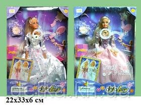 Лялька DEFA 20961 наречена з аксес муз