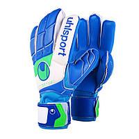 Вратарские перчатки Uhlsport Fangmaschine Soft Blue (100054301)