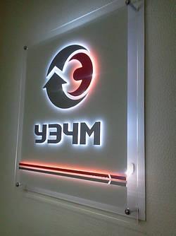 Настенные логотипы и декор