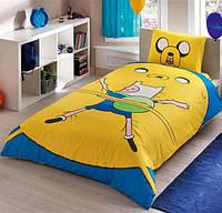 Подростковое постельное белье TAC Adventure Time Ранфорс