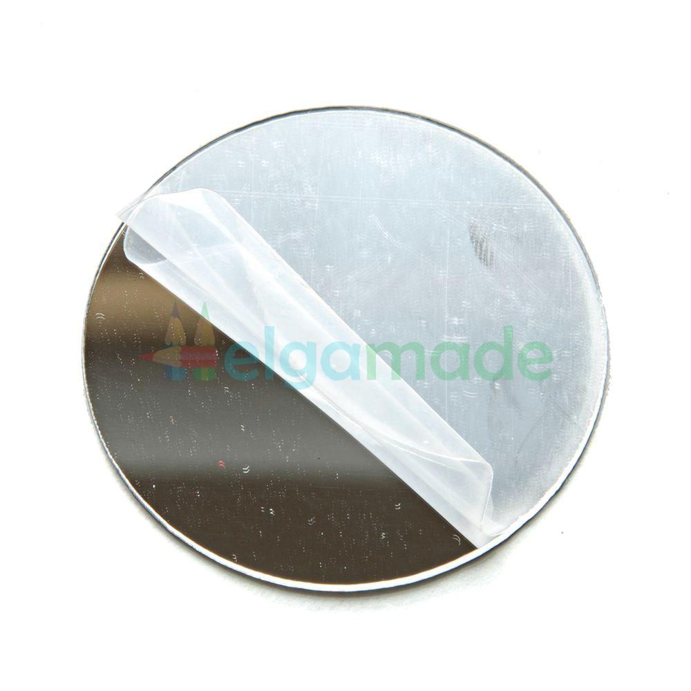 Безопасное зеркало на клеевой основе, акриловое, 5 см, 1 шт