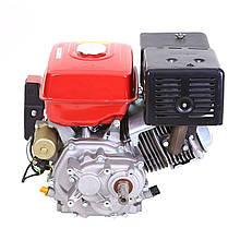 Двигатель Булат BТ190FЕ-L (редуктор 1/2, шпонка, бензин 16л.с., электростартер)