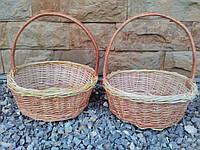 Плетеная корзина для подарков