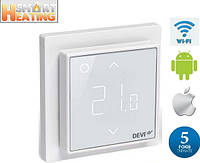 Wi Fi Терморегулятор Devi Devireg Smart белый 140F1141