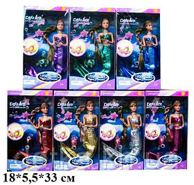 Лялька DEFA 20983 русалка змінює колір волосся