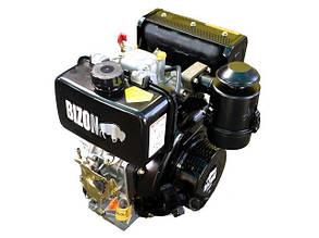 Двигатель дизельный 178F шлицевой выход Ф25 BIZON
