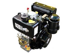 Двигатель дизельный 178FE шлицевой выход Ф25 BIZON