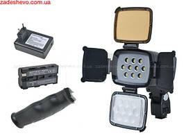 Светодиодный накамерный свет ExtraDigital LED-5012 (Pro LED 5012) + зарядное устройство и батарея