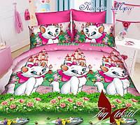 Детское постельное полуторное 150*215 Кошка Мэри