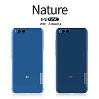 TPU чехол Nillkin для Xiaomi Mi Note 3 (2 цвета)