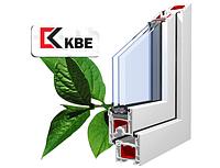 Окна металлопластиковые KBE (КБЕ) Classic - 3 камерный (58 мм)