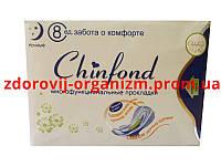 Прокладки турмалиновые анионовые Chinfond (ночные)- упаковка