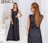 Платье красивое в пол вечернее 42-44,46-48