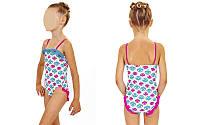 Купальник детский KIDS AR-13507-19 MUSHROOM (возраст 2-3, 4-5 лет, белый-розовый)